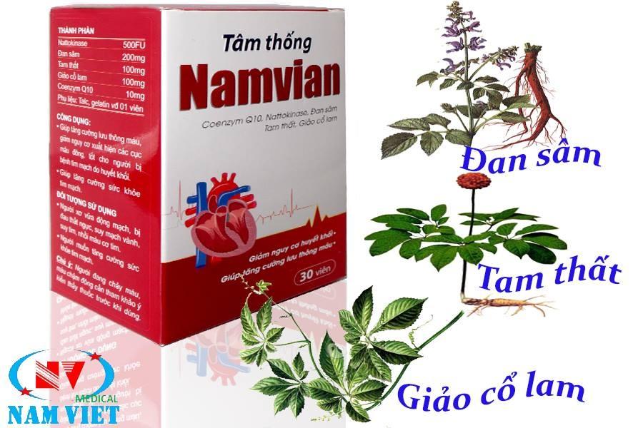 Hộp tâm thống Namvian cho trái tim luôn khỏe