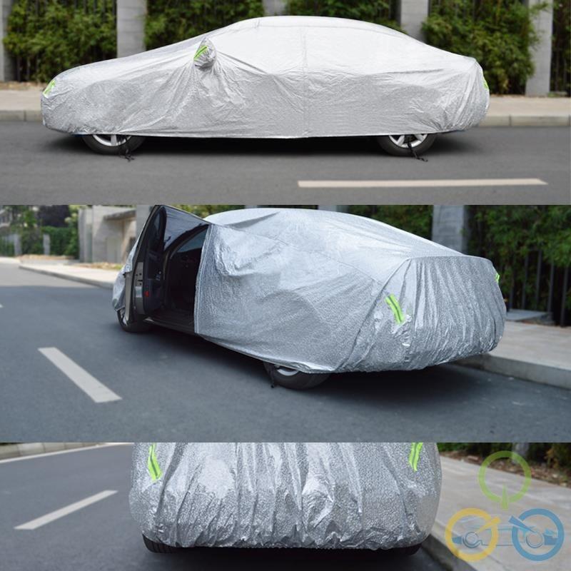 Bạt phủ ô tô tráng nhôm chống mưa nắng 3