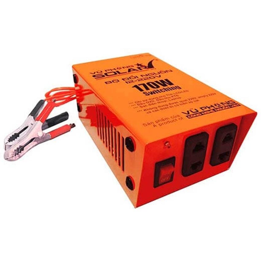 Bộ đổi nguồn 12VDC-220VAC 170W