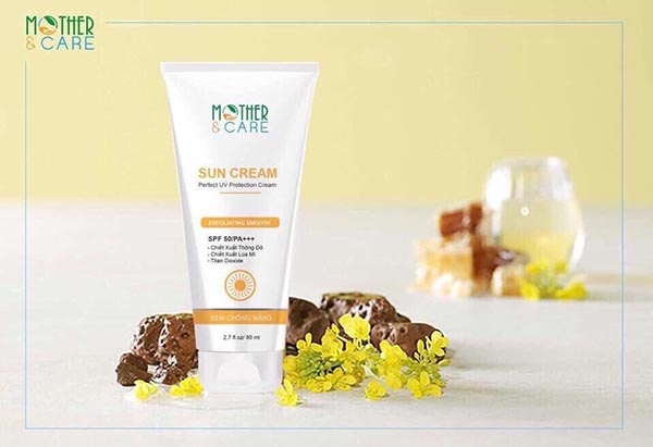 Kem chống nắng SUN CREAM MOTHER&CARE