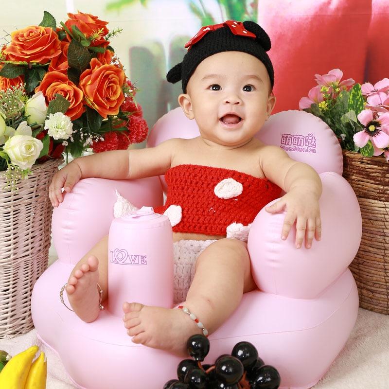 Ghế hơi tập ngồi ăn dặm cho bé từ 5 tháng đến 2 tuổi
