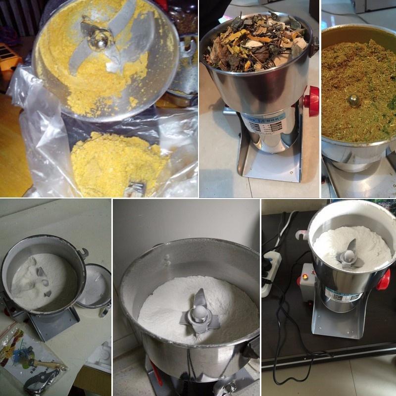 Máy xay bột khô, máy xay ngũ cốc, xay trà xanh, xay đậu nành 2