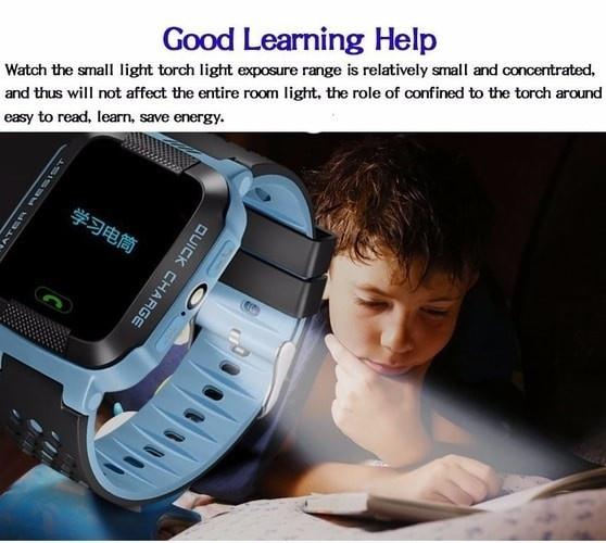 Đồng hồ định vị trẻ em GPS - Smart Watch Q528 Tracker GPS 9