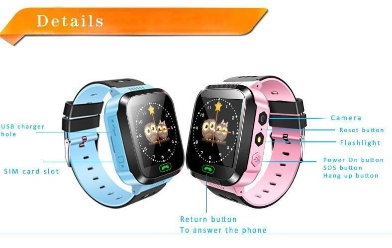Đồng hồ định vị trẻ em GPS - Smart Watch Q528 Tracker GPS 2