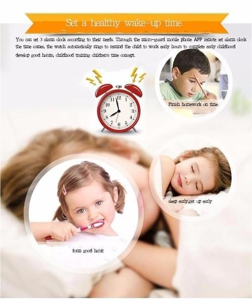 Đồng hồ định vị trẻ em GPS - Smart Watch Q528 Tracker GPS 8