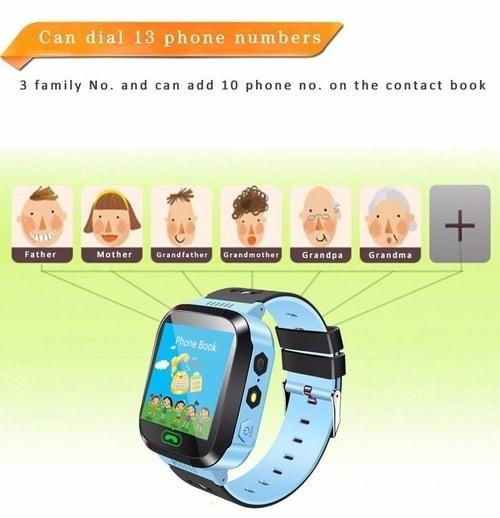 Đồng hồ định vị trẻ em GPS - Smart Watch Q528 Tracker GPS 10