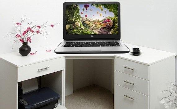Thiết kế laptop HP 14 AM033TX X1H08PA nhỏ gọn