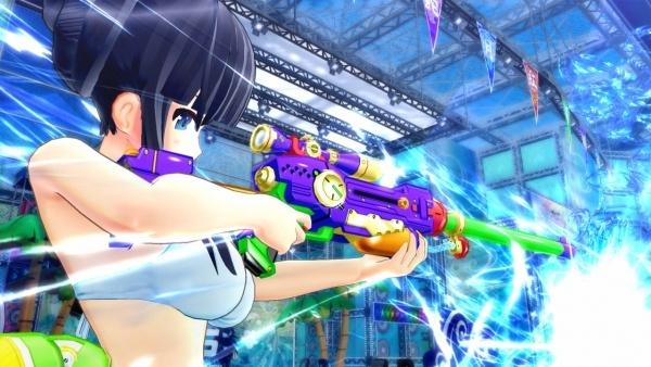 Game toàn gái xinh mặc bikini bắn nhau Senran Kagura: Peach Beach Splash sắp mở cửa