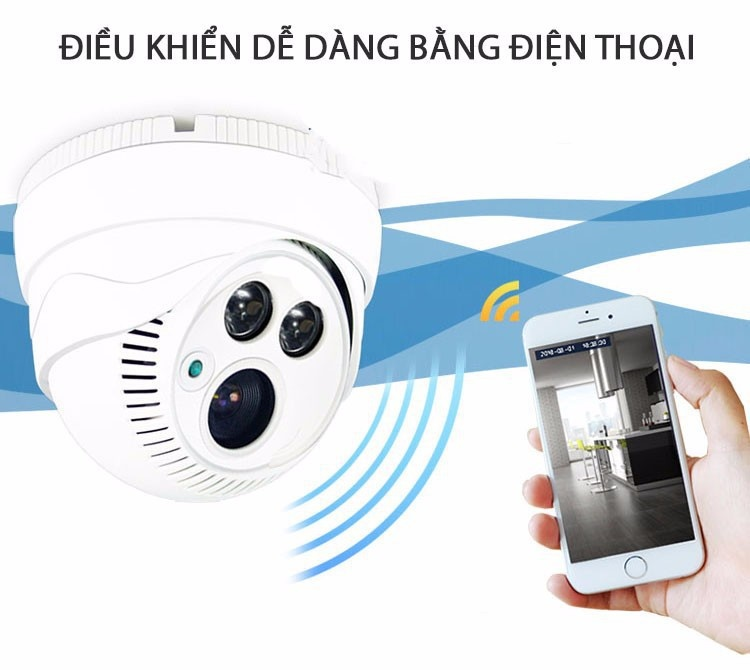 Camera IP Yoosee ốp trần X8200 3