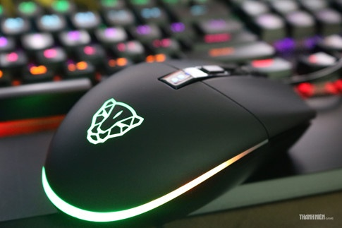 Cận cảnh Motosped V50: Chuột chơi game RGB 'thứ dữ' giá mềm - ảnh 12