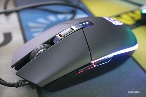 Cận cảnh Motosped V50: Chuột chơi game RGB 'thứ dữ' giá mềm - ảnh 7