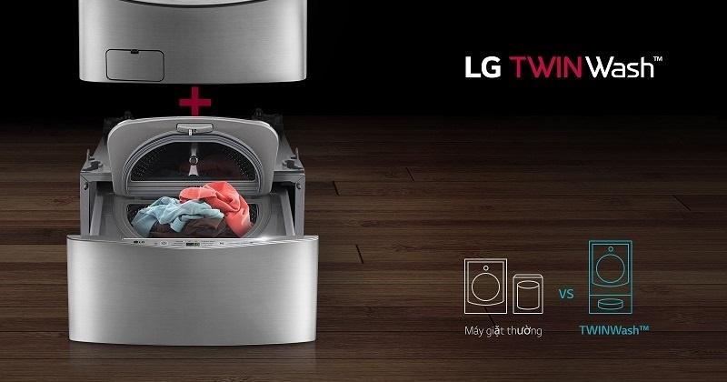 Có thể tương thích với các dòng máy giặt của trước của LG