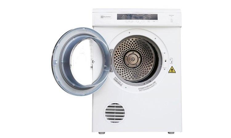 Máy sấy Electrolux 7.5 kg EDV7552 màu trắng lồng sấy bằng thép không gỉ bền bỉ