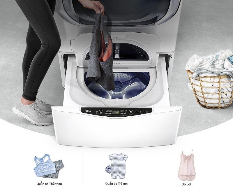 Máy giặt mini nhỏ gọn, giải pháp hoàn hảo cho việc giặt quần áo trẻ em