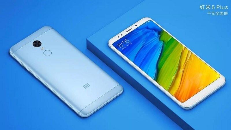 Xiaomi Redmi 5 Plus di động thông minh