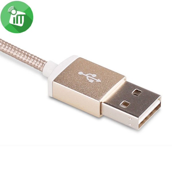 Pisen Lightning Data Sync Charging Cable With Double-sided USB 1500mm (6)