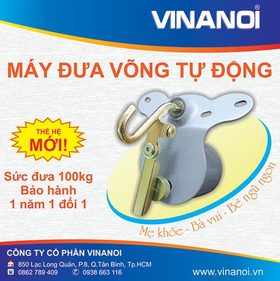 May dua vong cao cap VINANOI VN365