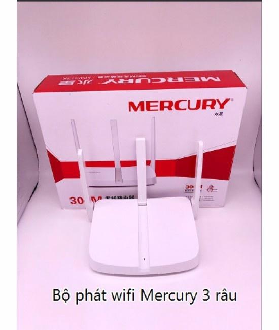 BỘ PHÁT WIFI MERCURY 3 RÂU MW313R 10