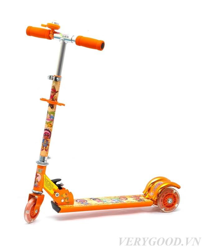 Xe scooter cho bé 3 bánh