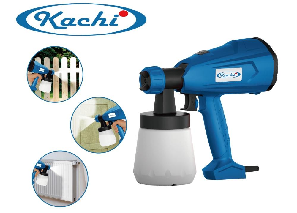 Máy phun sơn cầm tay Kachi - tặng bộ dụng cụ 37 chi tiết Kachi