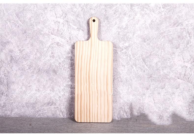 Thớt gỗ bày bàn ăn không vân 10