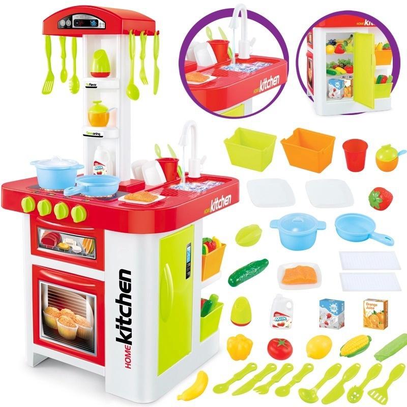 Bộ đồ chơi nấu bếp bằng nhựa cao cấp 7