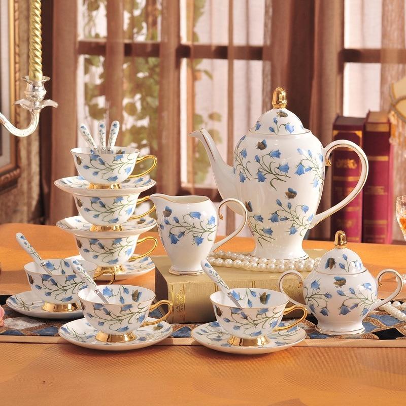 Bộ ấm trà 15 chi tiết Blue Fairy 1