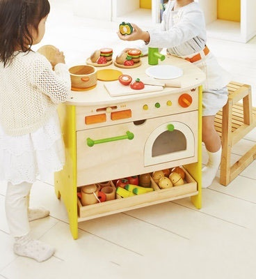 Bộ mô hình bếp và lò nướng gỗ cao cấp Ed Inter 2