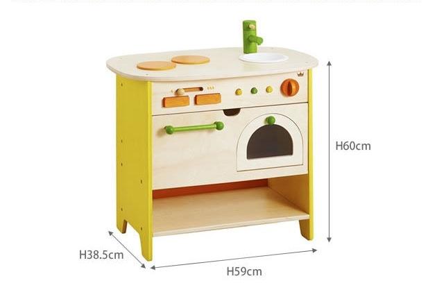 Bộ mô hình bếp và lò nướng gỗ cao cấp Ed Inter 6