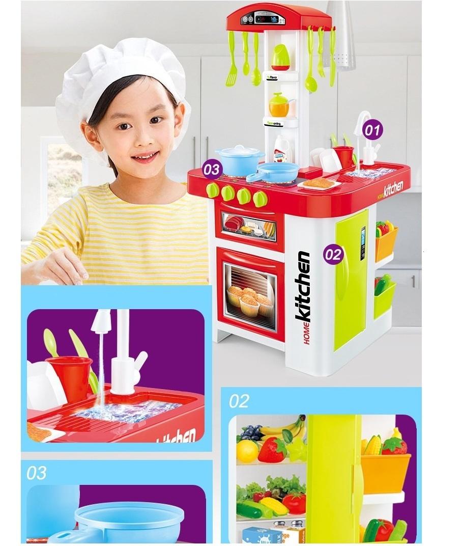 Bộ đồ chơi nấu bếp bằng nhựa cao cấp 4