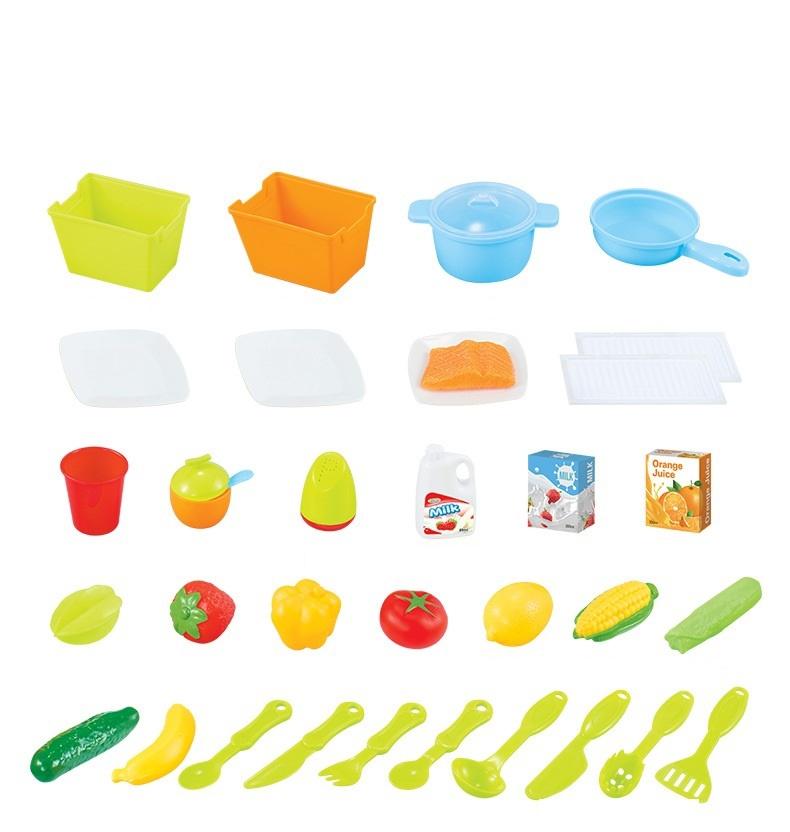 Bộ đồ chơi nấu bếp bằng nhựa cao cấp 10