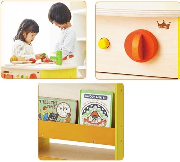 Bộ mô hình bếp và lò nướng gỗ cao cấp Ed Inter 4
