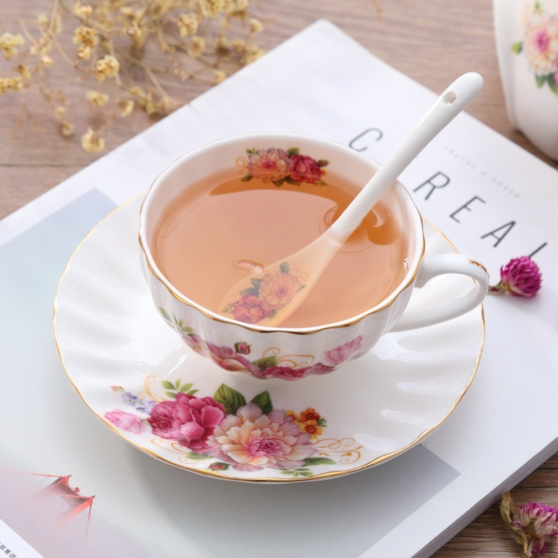 Bộ ấm trà bếp nến - Hoa Hồng 22