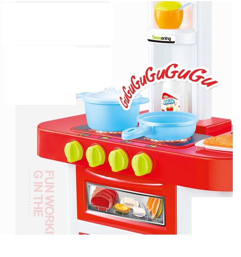 Bộ đồ chơi nấu bếp bằng nhựa cao cấp 16