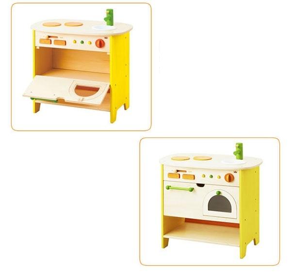 Bộ mô hình bếp và lò nướng gỗ cao cấp Ed Inter 5