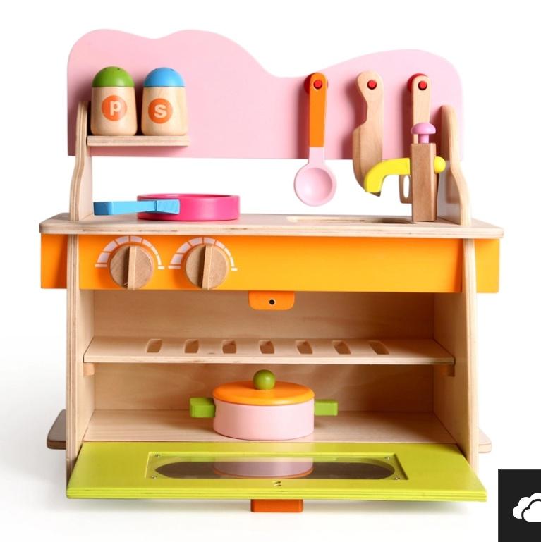 Bộ nhà bếp bằng gỗ cao cấp 1