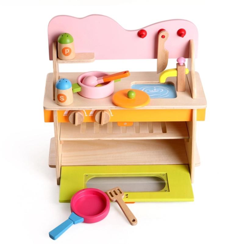 Bộ nhà bếp bằng gỗ cao cấp 3