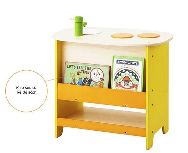 Bộ mô hình bếp và lò nướng gỗ cao cấp Ed Inter 3
