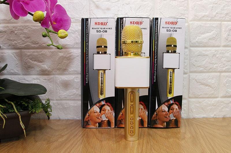 danh gia magic karaoke sd-08 - micro hat karaoke kem loa bluetooth cho dien thoai 12
